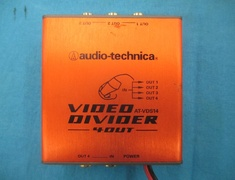 Audio-Technica - Secondhand and video distributor (4 OUT-1 IN)