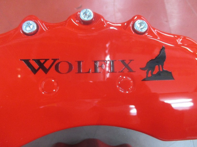 Unknown - Caliper cover 1 unused WOLFIX